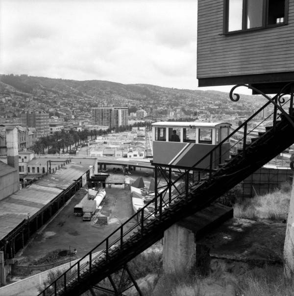 Ascensor Barón ya privatizado, c. 1985