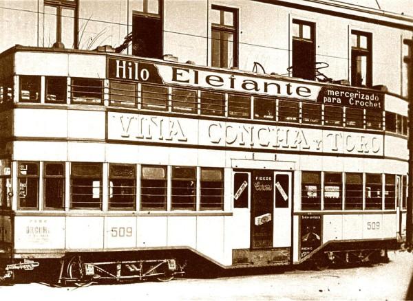 Tranvía belga, c. 1930.