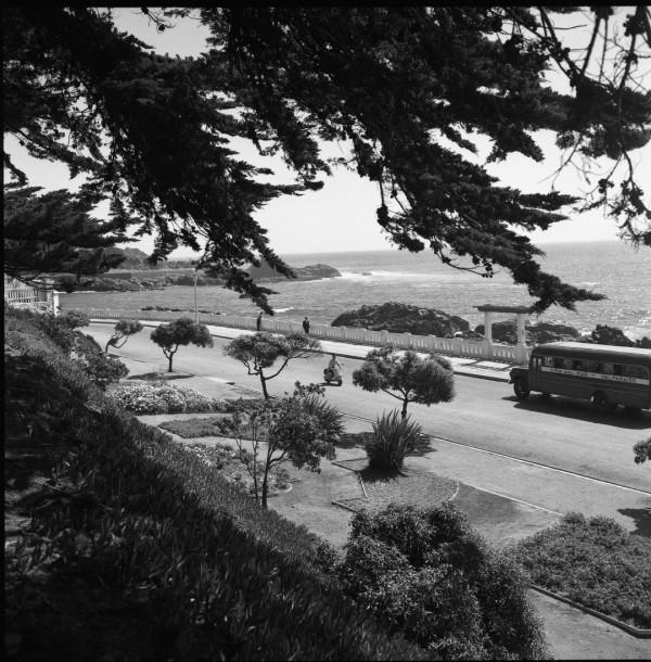 Microbús por Av. Altamirano, c. 1965