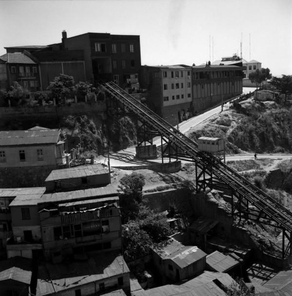 Ascensor del cerro Villaseca c. 1960.