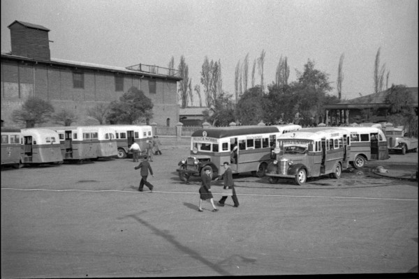 Terminal de góndolas sector Franklin, C.1940